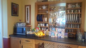 The Breakfast Buffet at Tudor Lodge B&B
